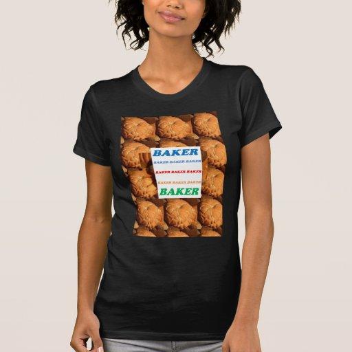 JO do DIVERTIMENTO do gelado da pastelaria do bolo T-shirts