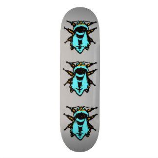"""Joelhos 8 das abelhas skate de 1/2"""""""