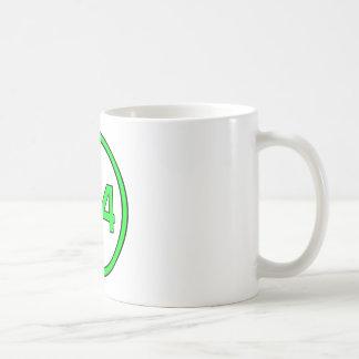 Jogador 4 caneca de café