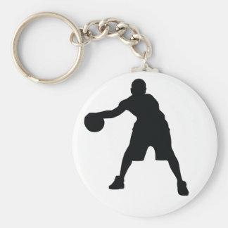 Jogador de basquetebol chaveiro