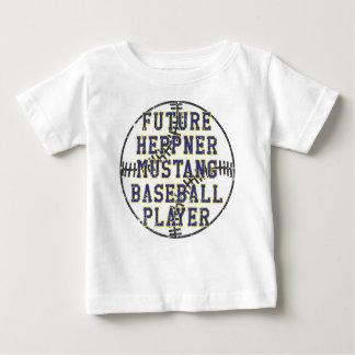 Jogador de beisebol do futuro do Grunge T-shirt