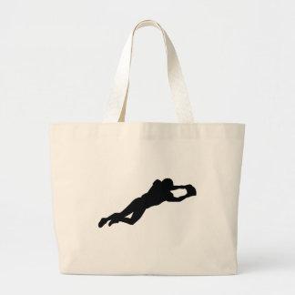 Jogador de futebol bolsas para compras