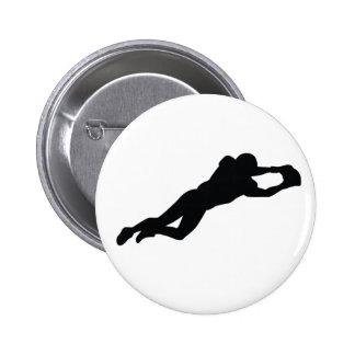 Jogador de futebol bóton redondo 5.08cm