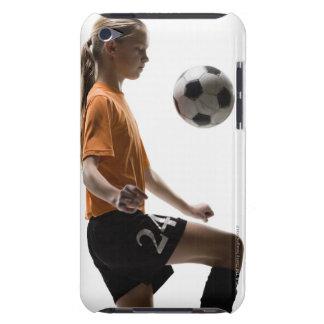 Jogador de futebol capa para iPod touch