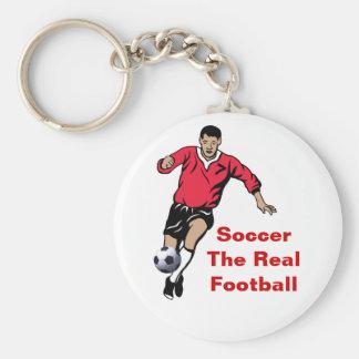 Jogador de futebol chaveiro