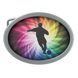 Jogador de futebol; colorido