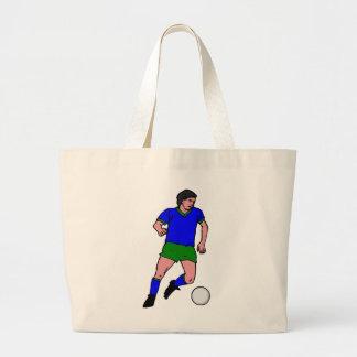Jogador de futebol bolsa