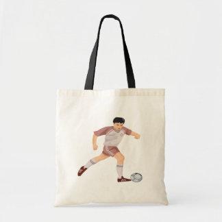 Jogador de futebol bolsas