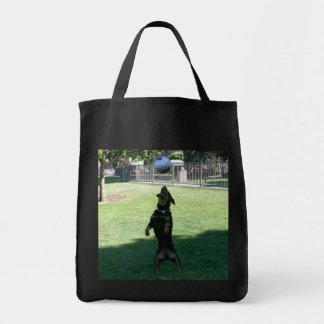 Jogador de futebol bolsas de lona