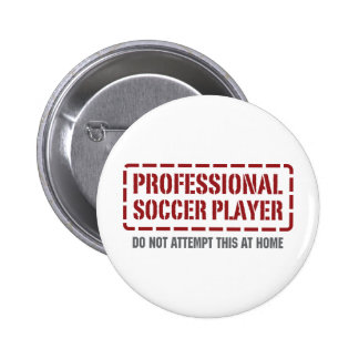 Jogador de futebol profissional botons