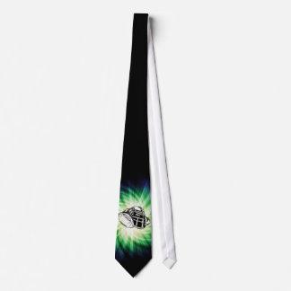 Jogador de futebol verde legal gravata