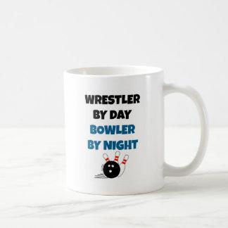 Jogador do lutador caneca de café