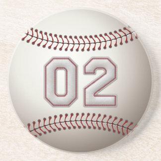Jogador número 02 - pontos legal do basebol porta copos para bebidas