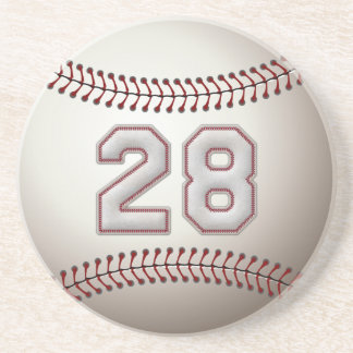 Jogador número 28 - pontos legal do basebol porta-copos
