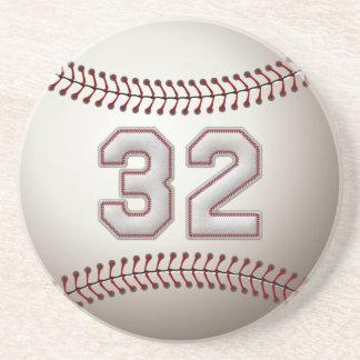 Jogador número 32 - pontos legal do basebol porta-copos