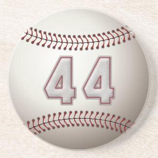 Jogador número 44 - pontos legal do basebol porta copos de arenito