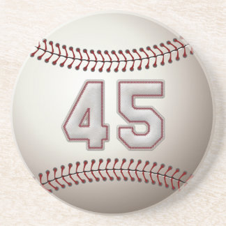 Jogador número 45 - pontos legal do basebol porta copos de arenito