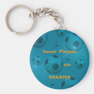 Jogadores de futebol chaveiro