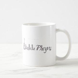 Jogadores do Ukulele Caneca De Café