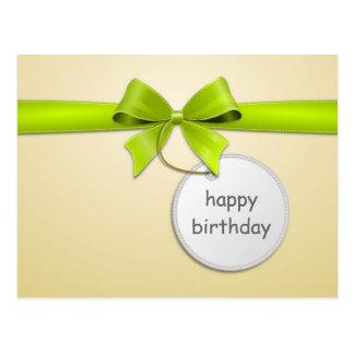 Jogar cartas cartão postal Amola happy birthday