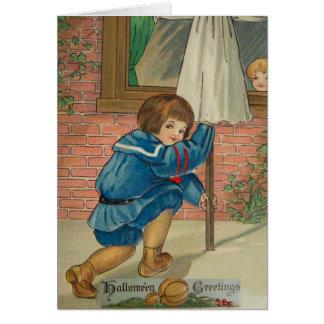 Jogar engana (o cartão do Dia das Bruxas do