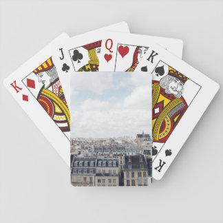 Jogo De Baralho Arquitectura da cidade de Paris France