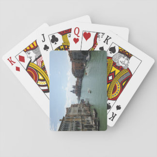 Jogo De Baralho Canal grande, cartões de jogo de Veneza
