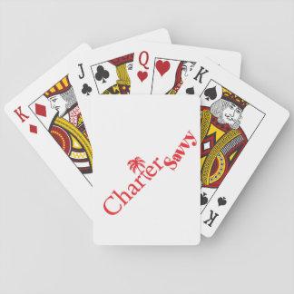 Jogo De Baralho Cartões de jogo Bareboating do logotipo de