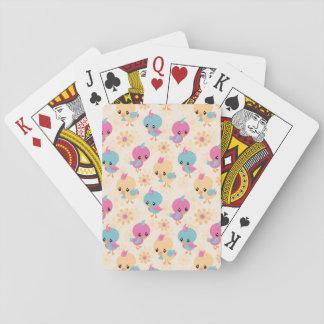 Jogo De Baralho Cartões de jogo bonitos dos pintinhos