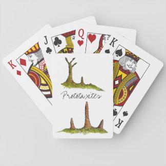 Jogo De Baralho Cartões de jogo clássicos de Prototaxites