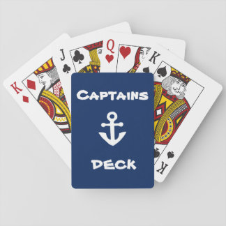 Jogo De Baralho Cartões de jogo da plataforma de capitães