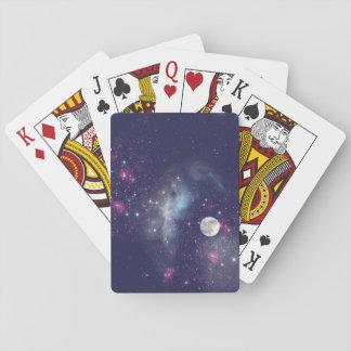 Jogo De Baralho Cartões de jogo do céu nocturno