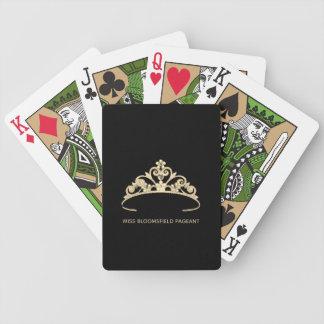 Jogo De Baralho Cartões de jogo feitos sob encomenda da tiara do