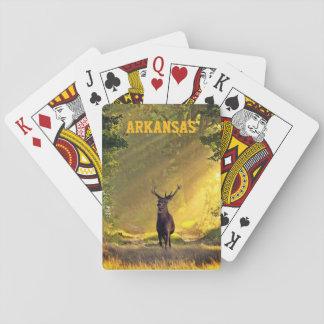 Jogo De Baralho Cervos do fanfarrão de Arkansas