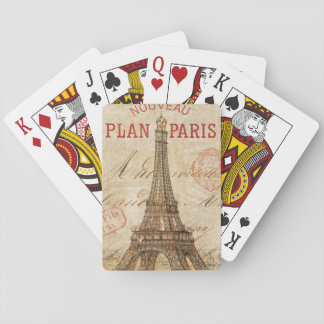 Jogo De Baralho Letra de Paris