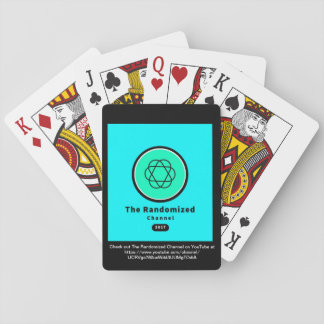 Jogo De Baralho Os cartões de jogo Randomized de YouTube do canal