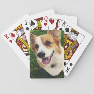 Jogo De Baralho Plataforma do Corgi de cartões de jogo