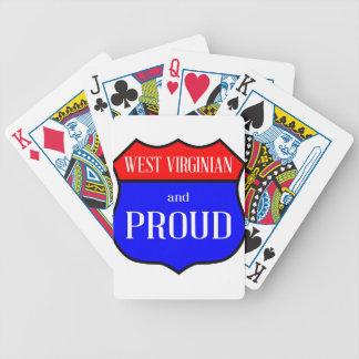 Jogo De Baralho Virginian e orgulhoso ocidentais