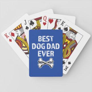 Jogo De Carta A melhor plataforma do pai do cão de cartões