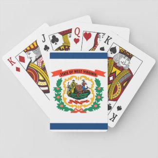 Jogo De Carta Bandeira do estado de West Virginia