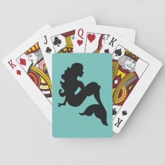 Jogo De Carta Cartões de jogo da sereia