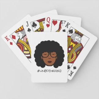 Jogo De Carta Cartões de jogo de Unbothered