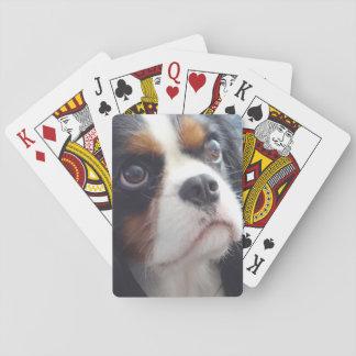 Jogo De Carta Cartões de jogo descuidados do rei Charles da Tri