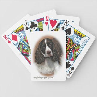 Jogo De Carta Cartões de jogo do Spaniel de Springer inglês