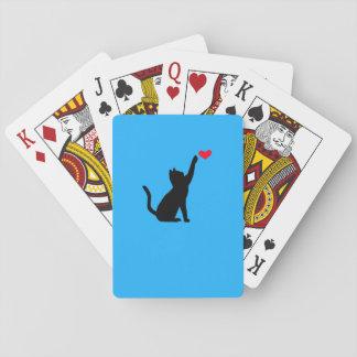 Jogo De Carta Cartões do gato