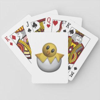 Jogo De Carta Chocando o pintinho - Emoji