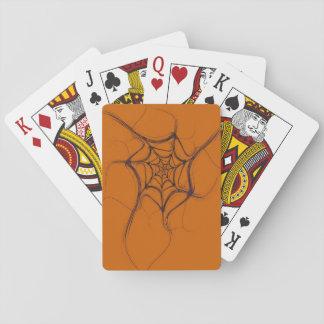 Jogo De Carta Os cartões de jogo padrão do índice abstraem a Web