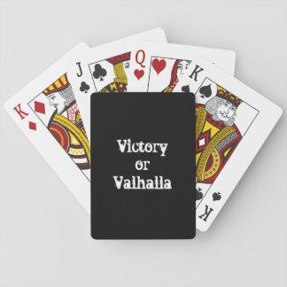 Jogo De Carta Presente da vitória ou do Valhalla