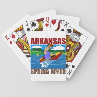 Jogo De Carta Rio do primavera de Arkansas