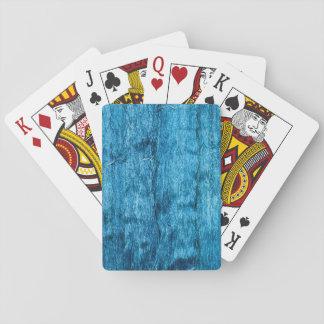 Jogo De Carta Seda tailandesa Handmade azul recentemente tingida